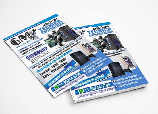 Panfleto GM Informática