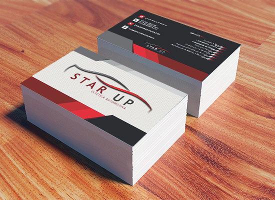 Cartão de Visita Star UP
